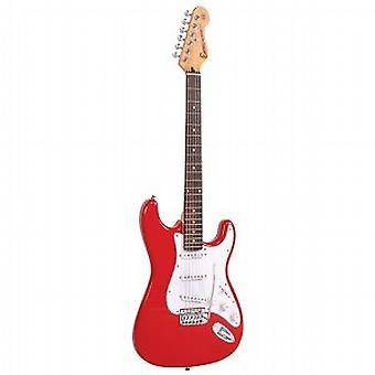 Encore Red Electric Guitar - Warehouse Clearance Price!