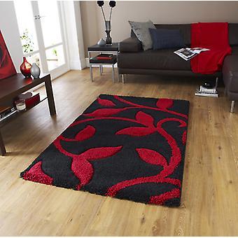Teppiche-neue Kunst Mode 7647 schwarz rot