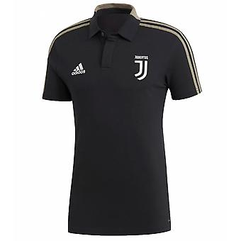 2018-2019 Juventus Adidas Polo Shirt (Black)