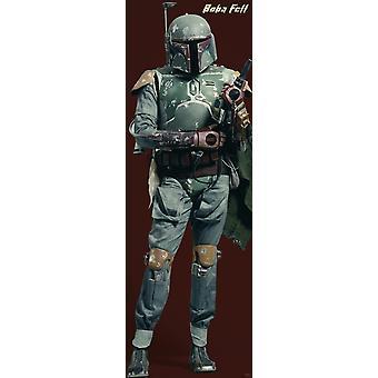 Star Wars Poster Boba Fett   T�rposter