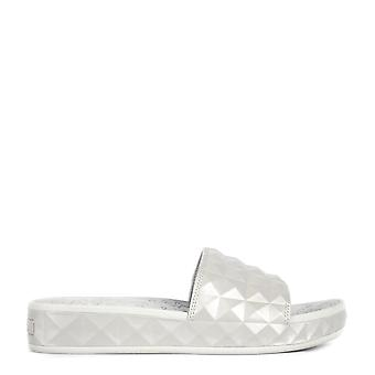Ash SPLASH Studded Sandals Silver
