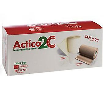 Actico 2 C Ulcercare キット ラテックス フリー Lge 31771 1
