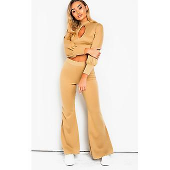 IKRUSH Womens Ainslie Cut Out Lounge Co-ord