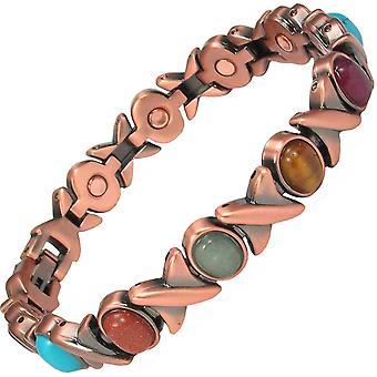 MEGANE MPS® assortiment riche en cuivre Bracelet magnétique + liens Free Removal Tool