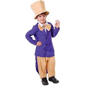 Bnov Charlie y el jefe de la fábrica de Chocolate, Willy Wonker