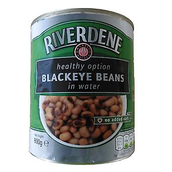 Riverdene Black Eye Beans in Water