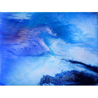 اللوحة الزيتية التجريدية، 90x120 سم اليد رسمت 003318080875670