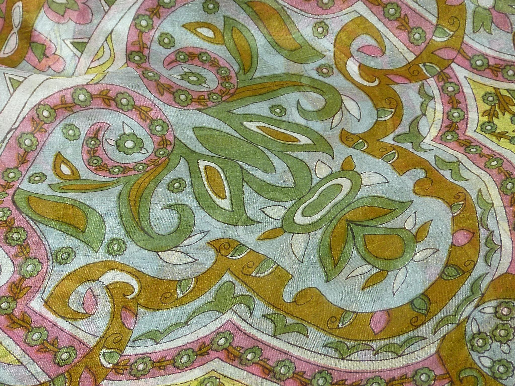 Mulberry Silk Classic Square Scarf Mala Caramel by Pashmina & Silk