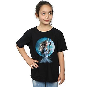 دي سي كوميكس الفتيات Aquaman الملكة أتلانا تي شيرت