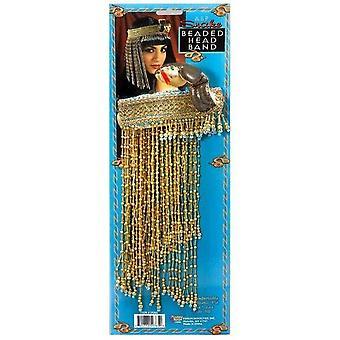 Kleopatra Perlen ägyptischer Kopfschmuck.