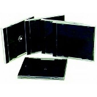 TechBrands Slimline CD Jewel Cases