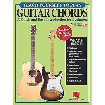 Gorenberg Teach Yourself to Play Guitar Chords Gtr Tab Bk/Online Audio