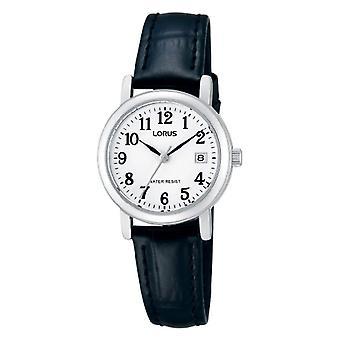 Lorus RH765AX9-wristwatch, leather, color: black