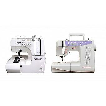 Jaguar Advanced 099 (+ FREE Feet) Overlocker and QE404 Sewing Machine (+ £150 of Accessories) Bundle