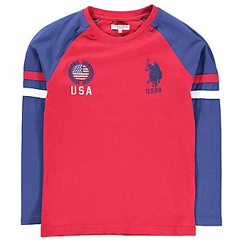US Polo Assn Kids Long Sleeve T Shirt