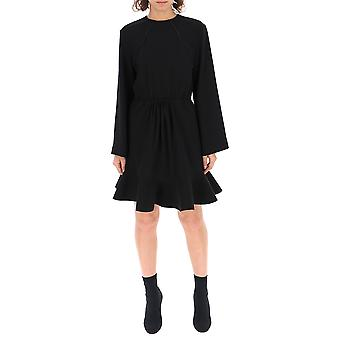 Chloé Chc19sro69137001 Women's Black Acetate Dress
