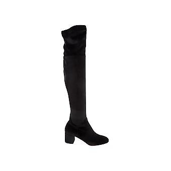 Aquazzura Esemidb0vst000 Women's Black Suede Boots
