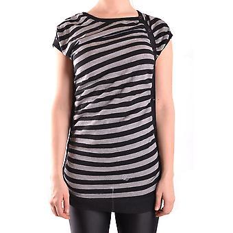 Mcq Door Alexander Mcqueen Ezbc053014 Women's Multicolor Wool T-shirt