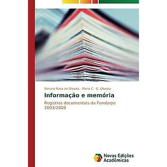Informao e vyčistiť de Rosa de Oliveira Simone