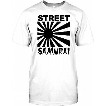 Street Samurai - Cool Biker - Kinder T Shirt