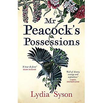 Mijnheer Peacock's bezittingen: de tijden boek van de maand