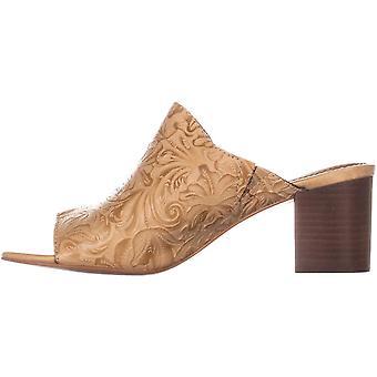Patricia Nash Womens Shelli Leather Open Toe Mules