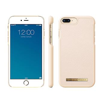 iDeal Of Sweden iPhone 8/7/6 Plus Saffiano Shell-Beige