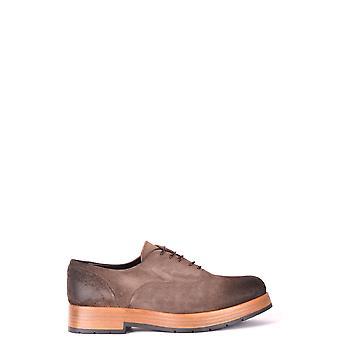 Cl Factory Ezbc249006 Women's Brown Suede Lace-up Shoes