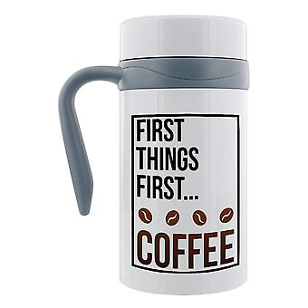 Grindstore First Things First Coffee Travel Mug