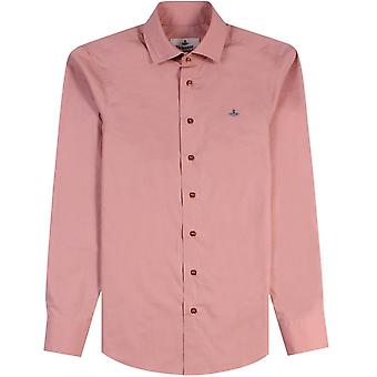 Vivienne Westwood One Button Krall Shirt Pink