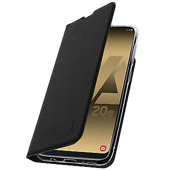 Akashi Galaxy A20e sag Card holder silikone stativ sort