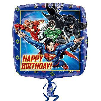 Amscan Justice League Square Foil Balloon