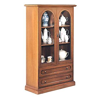 Classic Display Cabinet 2 doors and 2 drawers