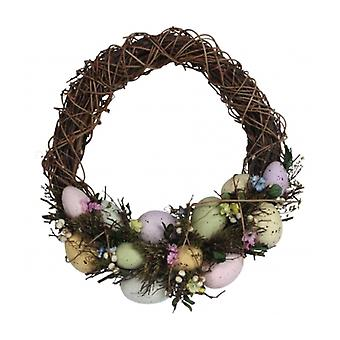 Speckled Egg Swag Easter Wreath Decoration by Gisela Graham