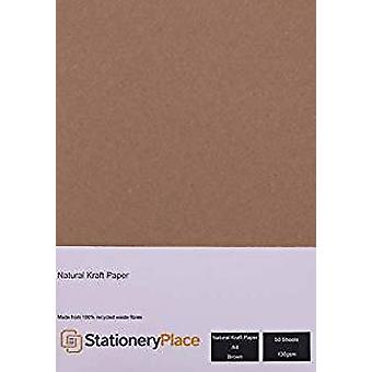 Crafter's Companion Kraft Cardstock A4