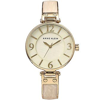Anne Klein doré métallique Ladies Watch AK-1980TPRG