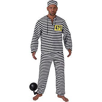 Mannen kostuums gevangene