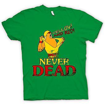 Kids T-shirt - Hulk Hogan - Yellow And Red Never Dead
