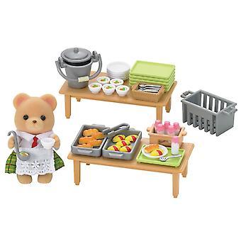 Epoch Sylvanian Families School Lunch Set