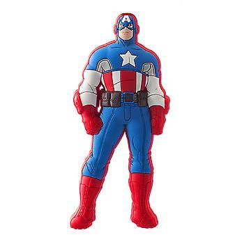 Magnet-Marvel-Catptain America mjuk PVC licensierade nya gåvor Toy 68033