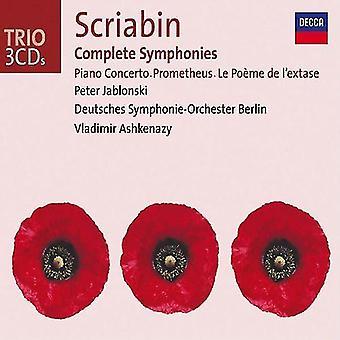 A. Scriabin - Scriabin: Complete Symphonies [CD] USA import
