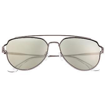 Sixty One Nudge Polarized Sunglasses - Gunmetal/Silver
