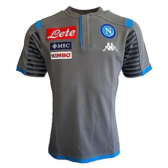 2019-2020 Napoli Cotton Polo Shirt (Grey)