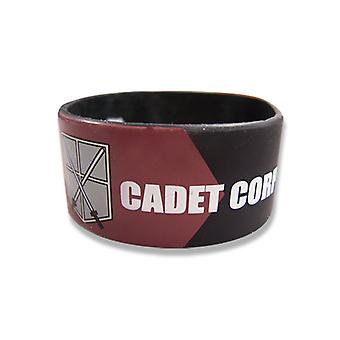 Wristband - Attack on Titan - New Cadet Corp Anime Licensed ge54051