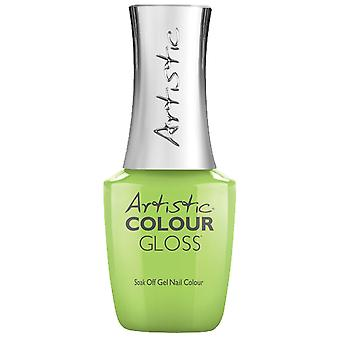 Artistic Colour Gloss Gel Nail Polish Collection - Toxic (13066) 15ml