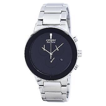 Citizen axiom Eco-aandrijving chronograaf At2240-51e mannen ' s-horloge