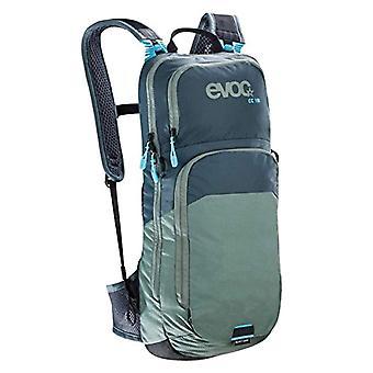 evoc 100313220 Adult Unisex Backpack - Grey/Olive - 2 L