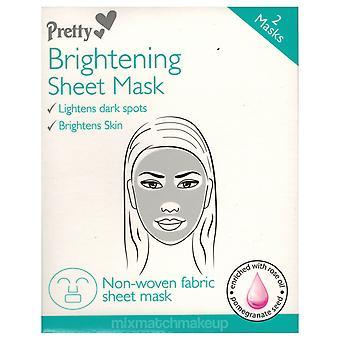 Pretty Sheet Mask ~ Brightening