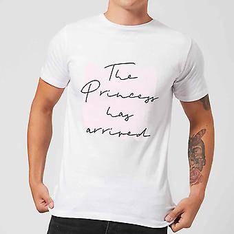The Princess Has Arrived Men's T-Shirt - White