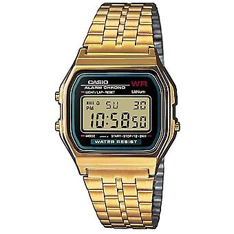 Casio Men ' s cuarț ceas cu negru Dial analog digital display (A159WGEA-1EF)